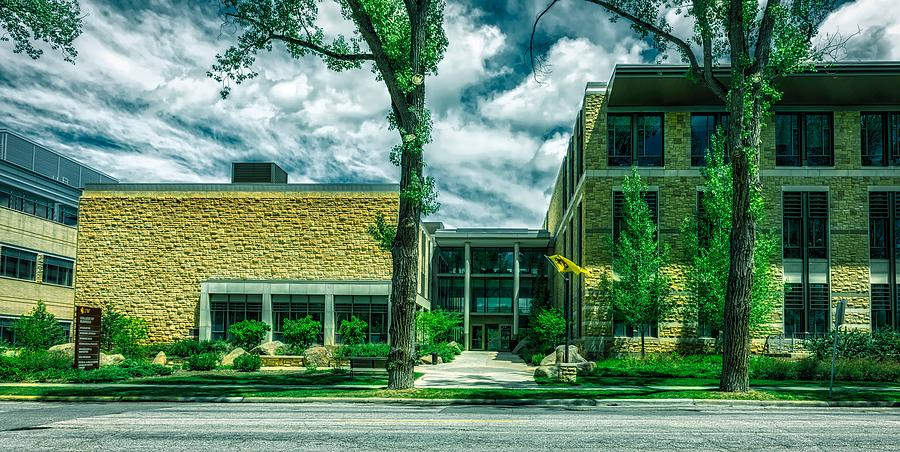 College Of Business University Of Wyoming Photograph By