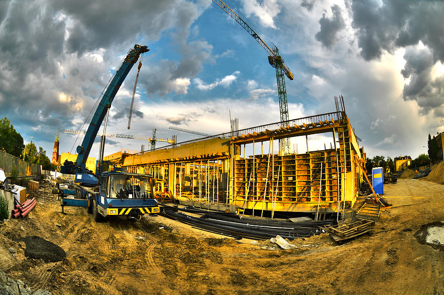Construction Site Photograph