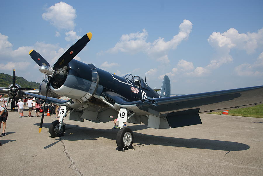 F4u Corsair Fighter Photograph By Paul Lindner