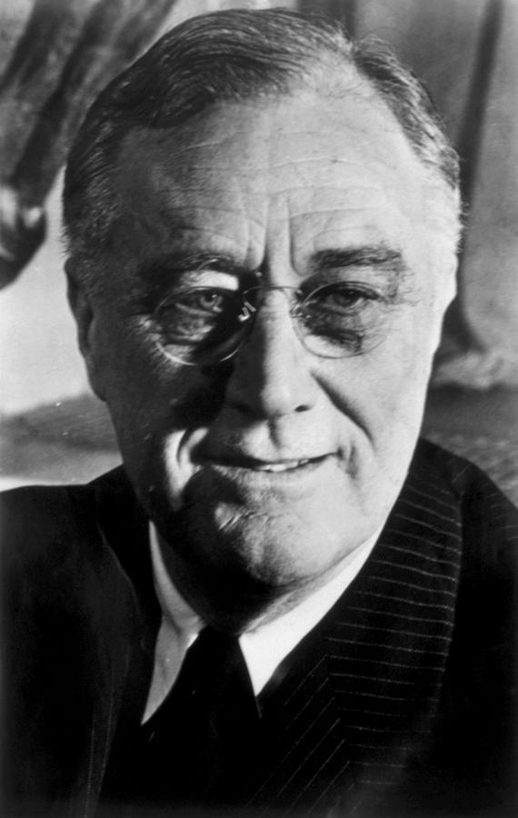Franklin D. Roosevelt 1882-1945, U.s Photograph