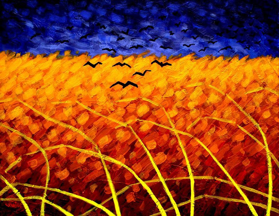 Homage To Van Gogh Painting