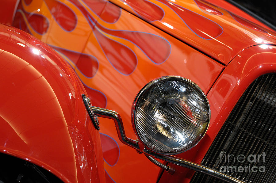 Hot Rod Photograph - Hot Rod Ford Coupe 1932 by Oleksiy Maksymenko