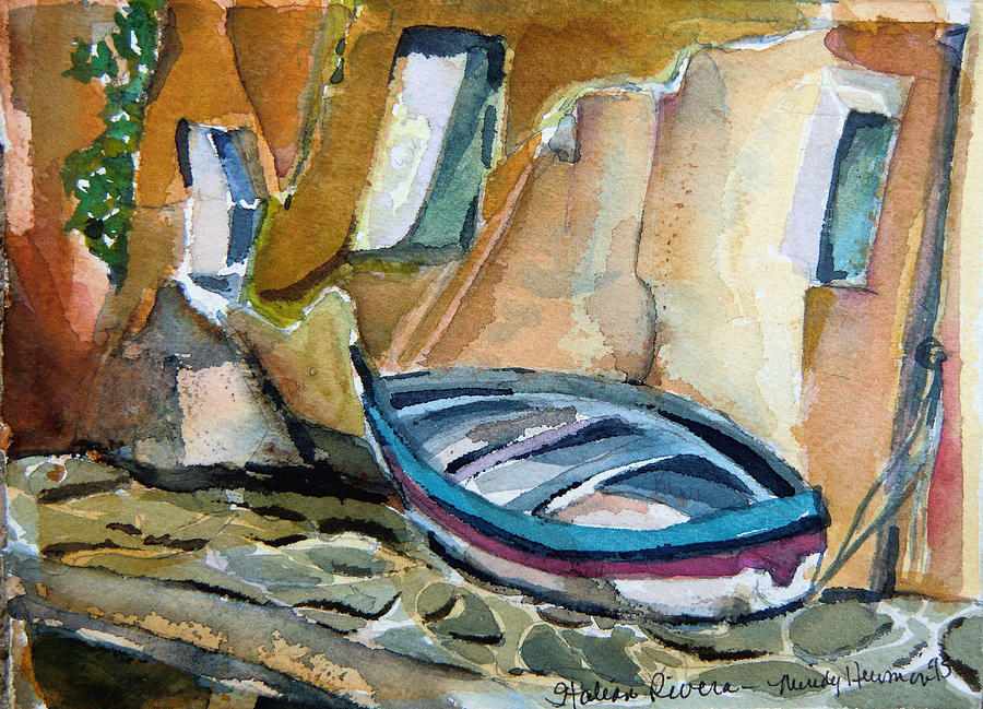 Italy Painting - Italian Riviera by Mindy Newman