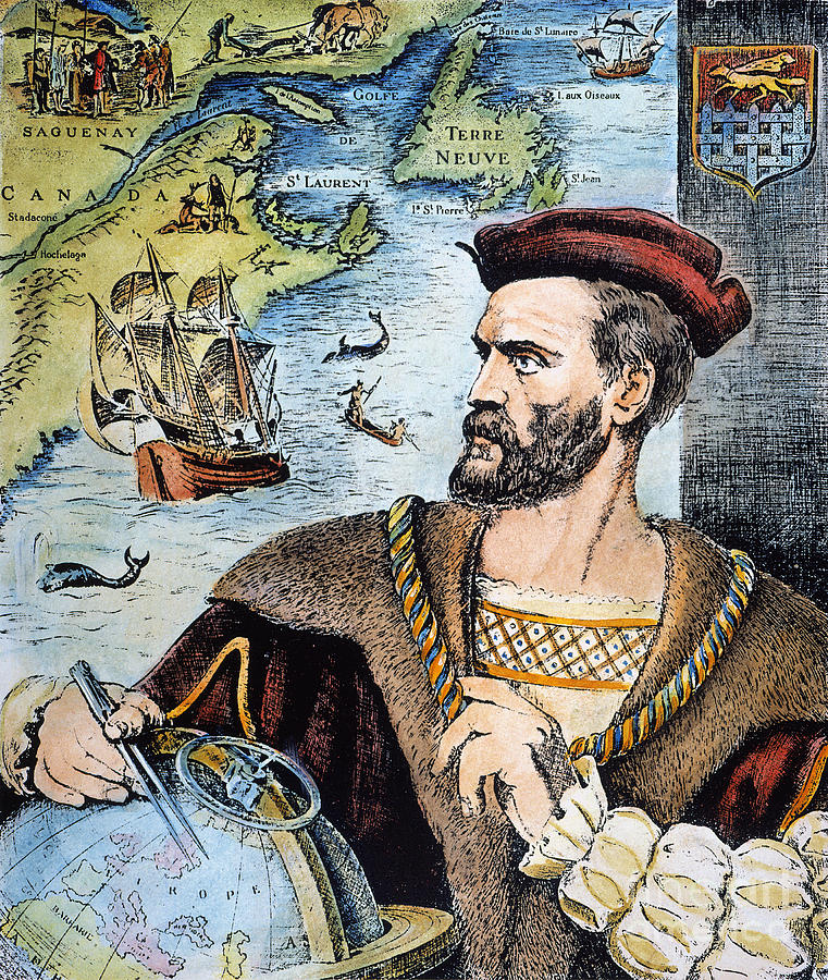 16th Century Photograph - Jacques Cartier (1491-1557) by Granger