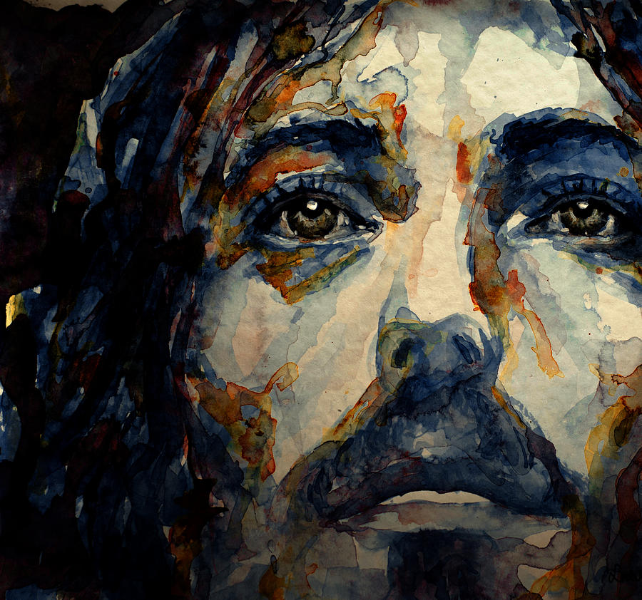 Jesus Christ Painting By Laur Iduc