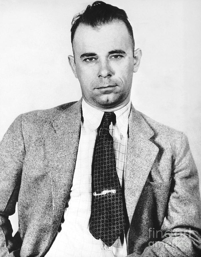1933 Photograph - John Dillinger 1903-1934 by Granger