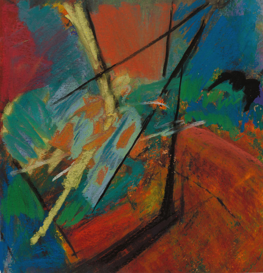 Abstract Painting Painting - Landing Sight by Ethel Vrana