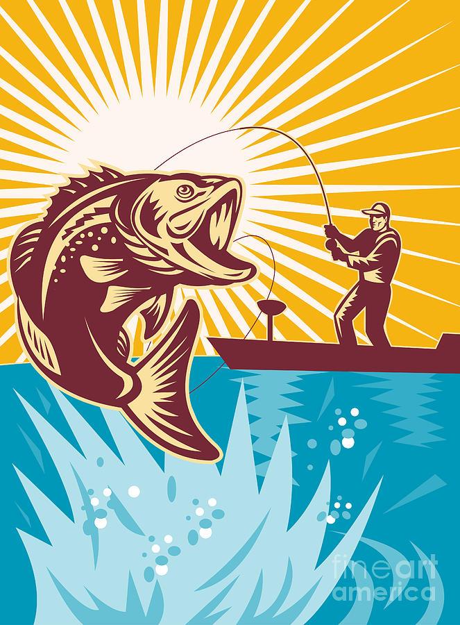 рыбак графика картинки