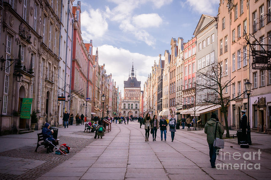 Long Market, Gdansk Photograph