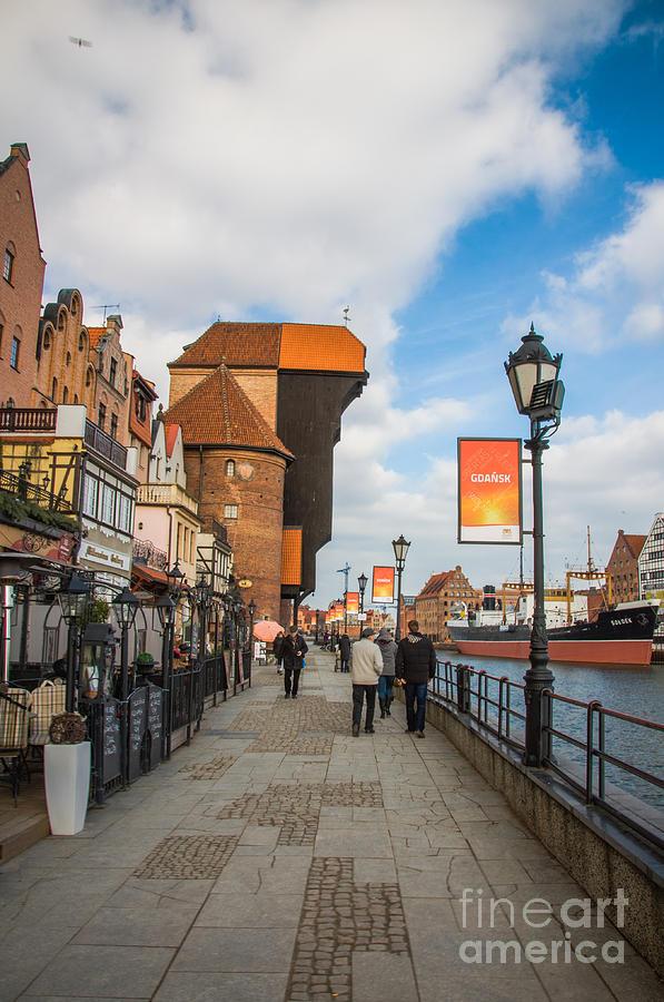 Medieval Crane, Gdansk Photograph