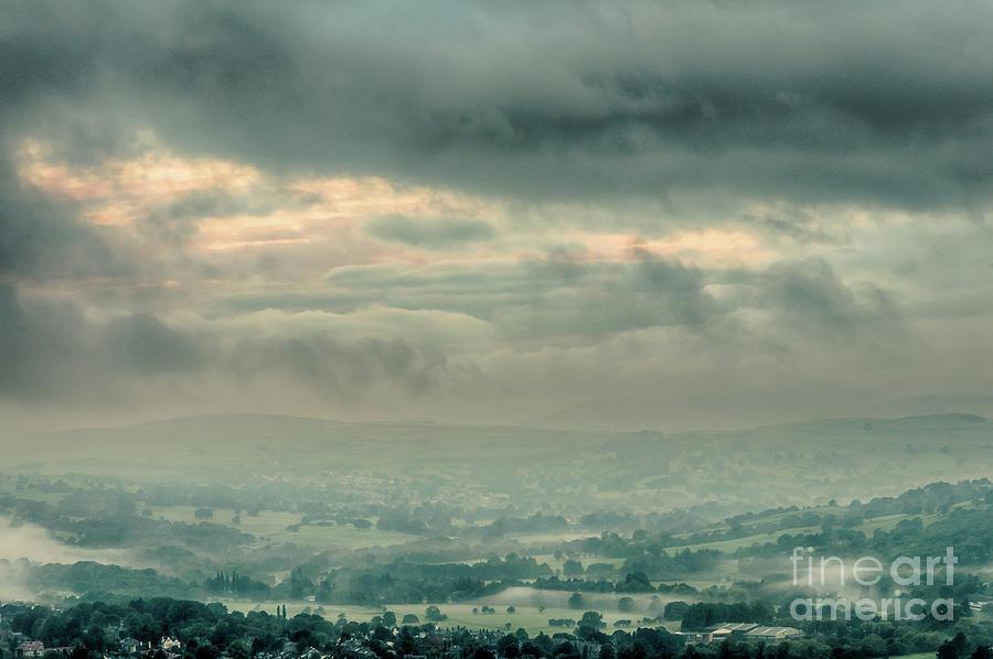 Misty Morning In Ilkley Photograph