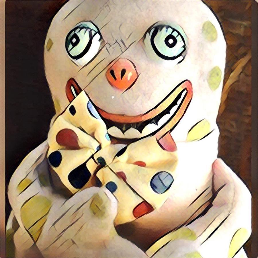 Mr blobby digital art by gabyduval image and design for Mr art design