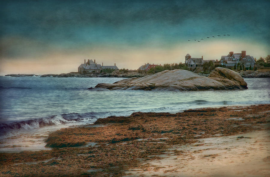 Seascape Photograph - Newport State Of Mind by Robin-lee Vieira