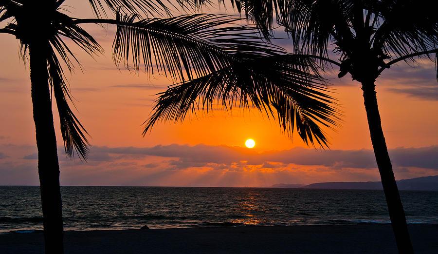 Nuevo Vallarta Photograph - Nuevo Vallarta Sunset by About Light  Images