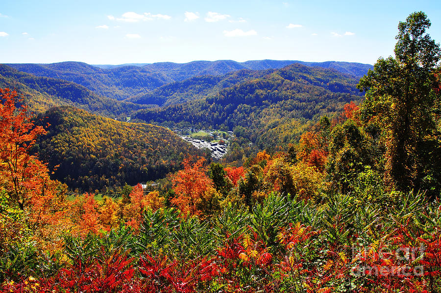 West Virginia Photograph - Point Mountain Overlook by Thomas R Fletcher