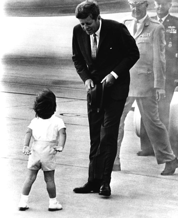 1960s Candids Photograph - President John F. Kennedy by Everett