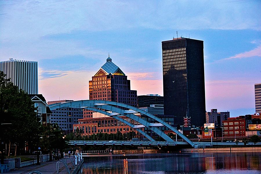 Rochester New York Skyline Photograph By Richard Jenkins