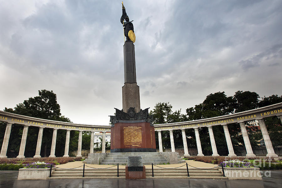 Architecture Photograph - Russian Liberation Monument by Andre Goncalves