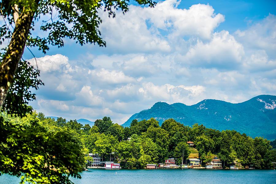 Scenery Photograph - Scenery Around Lake Lure North Carolina by Alex ...