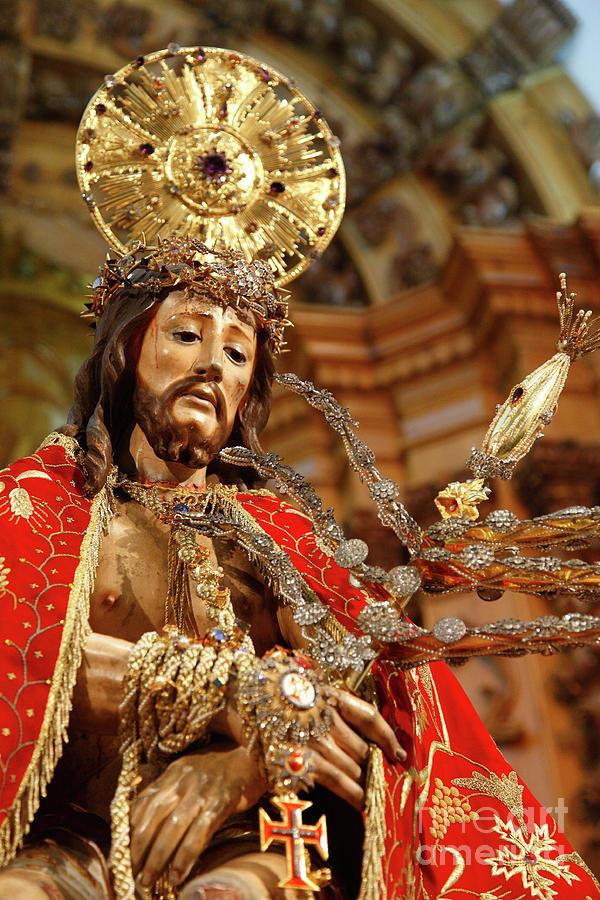 Ecce Homo Photograph - Senhor Bom Jesus Da Pedra by Gaspar Avila