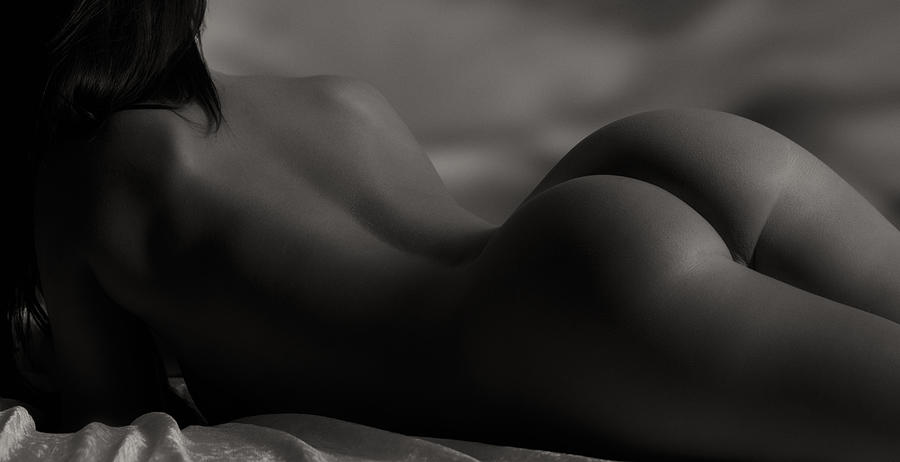 Nude Photograph - Solitude  by Naman Imagery
