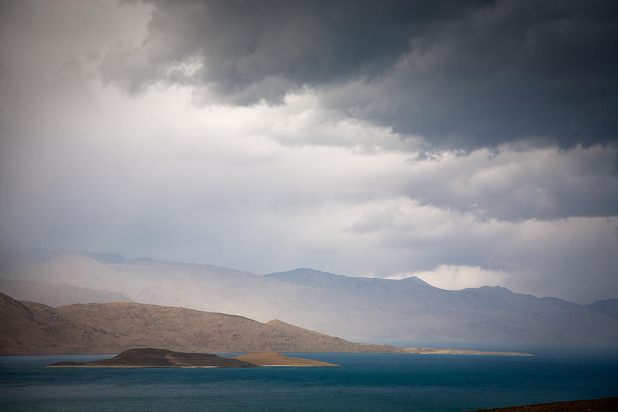 Storm On Karakul Lake Photograph