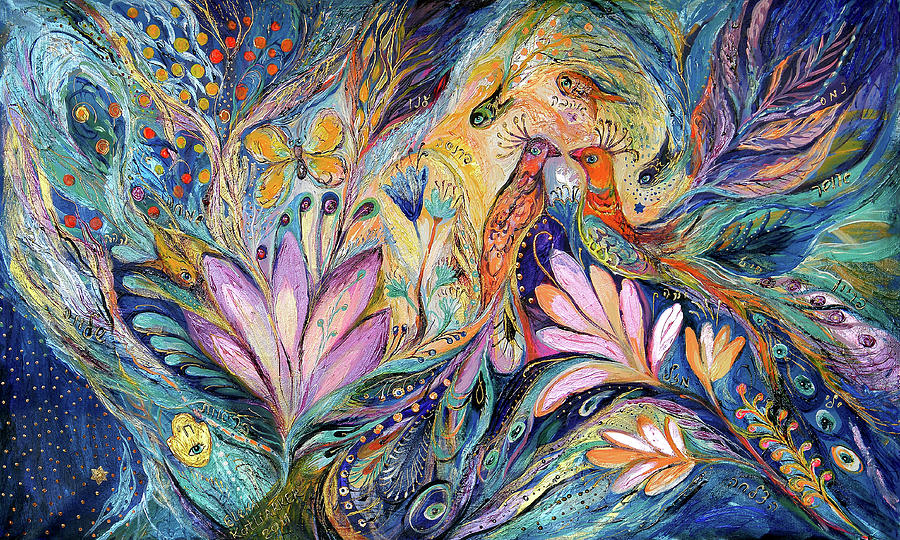 Original Painting - The Sea Song by Elena Kotliarker