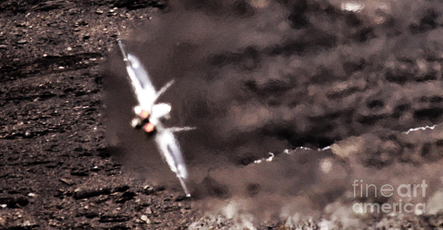 Axalp Photograph - Thrust by Angel  Tarantella