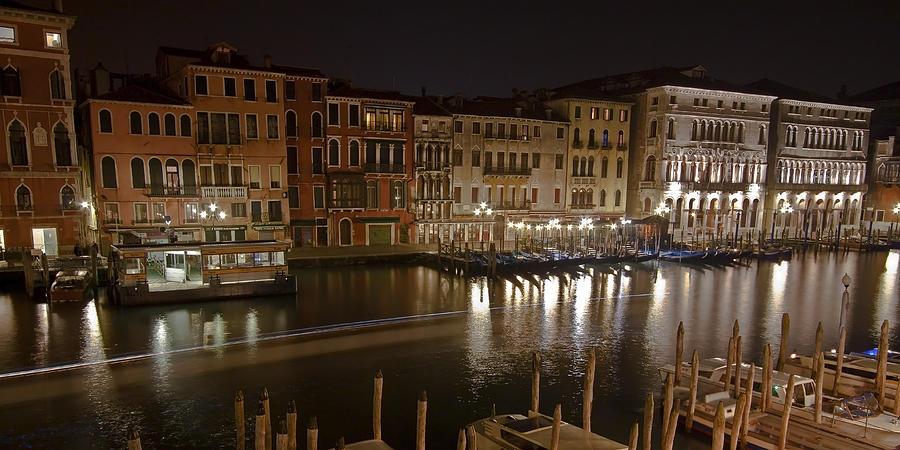 Venice By Night Photograph
