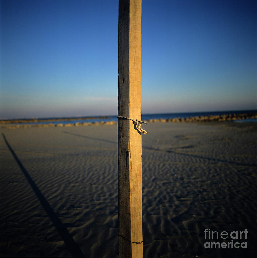 Wooden Post Photograph