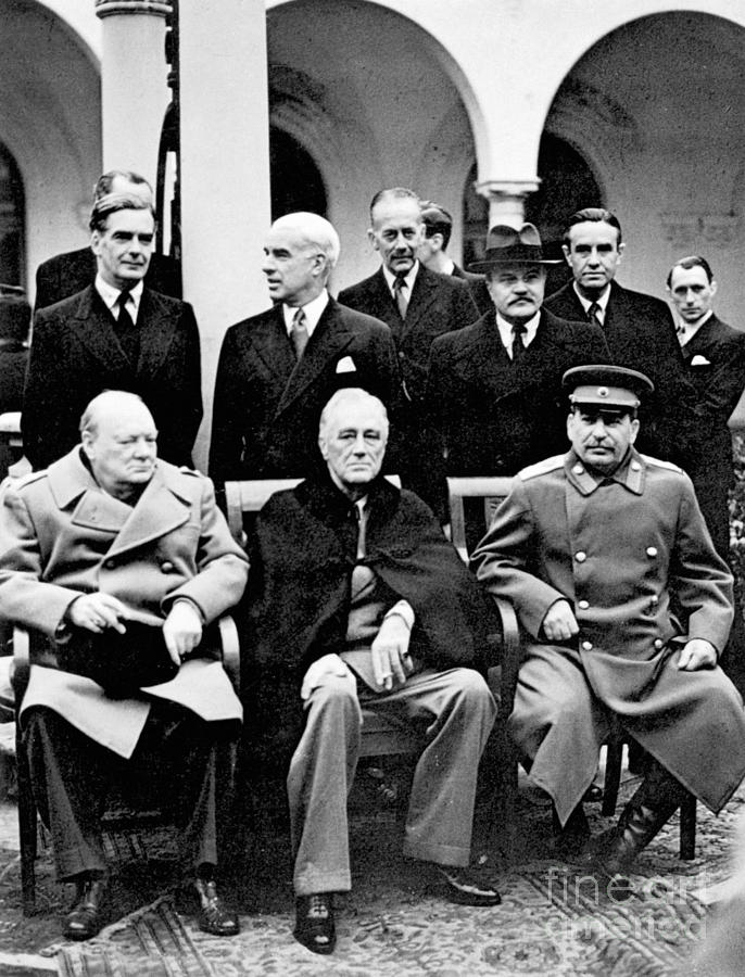 Yalta Conference, 1945 by Granger