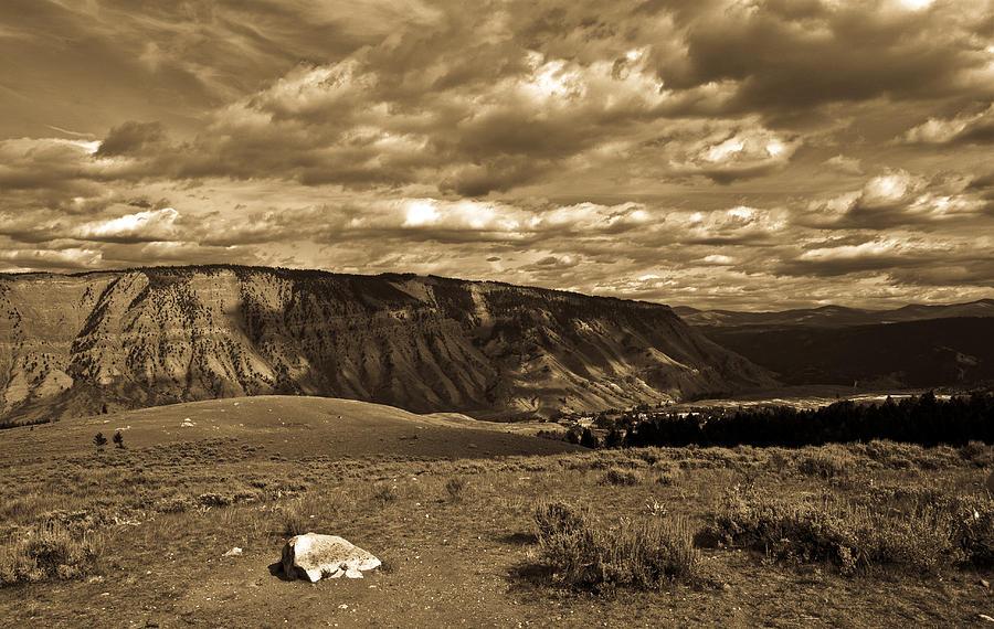 Yellowstone Photograph - Yellowstone Sky by Patrick  Flynn