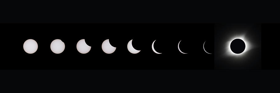 2017 Solar Eclipse Series Photograph