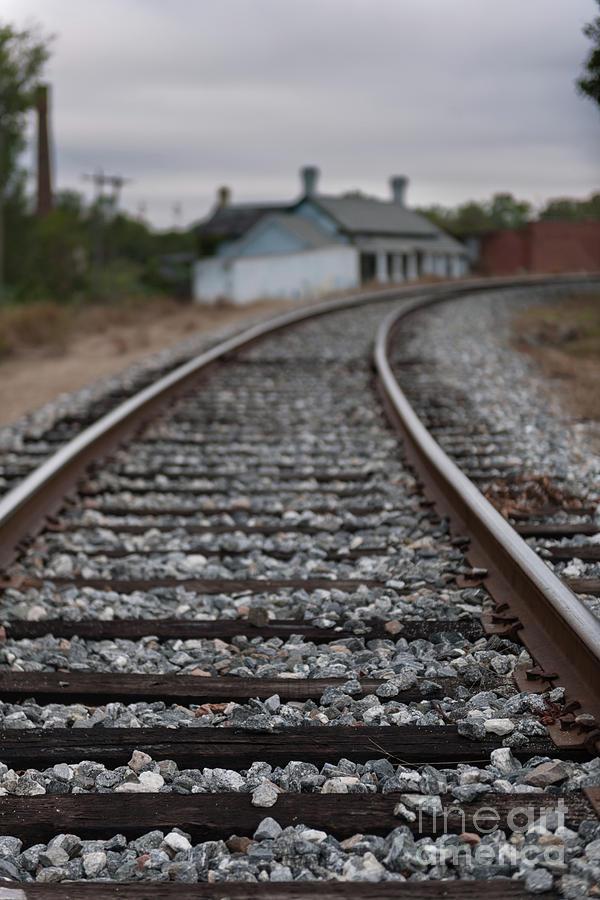 Upstate Train Tracks Photograph