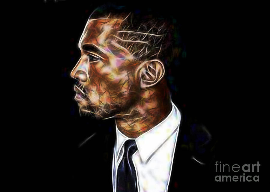 Kanye West Collection Mixed Media by Marvin Blaine
