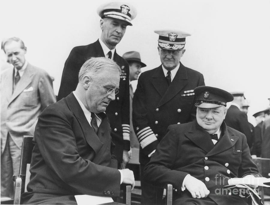 1941 Photograph - Franklin Delano Roosevelt by Granger