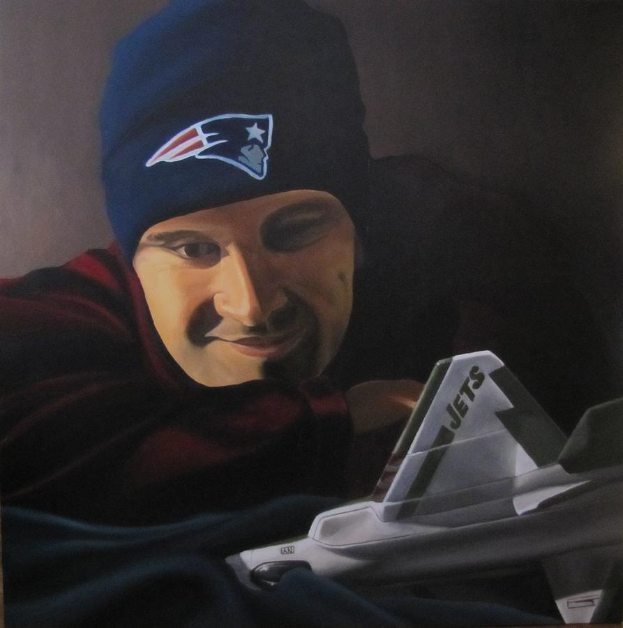 Patriots Painting - . by Michael Holmes