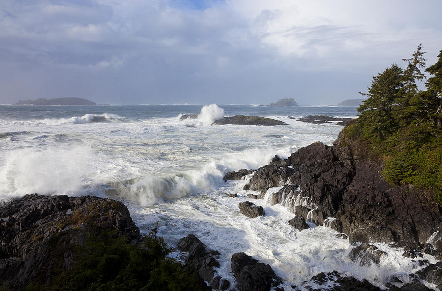 No People Photograph - A Stormy Morning On The Wild West Coast by Taylor S. Kennedy