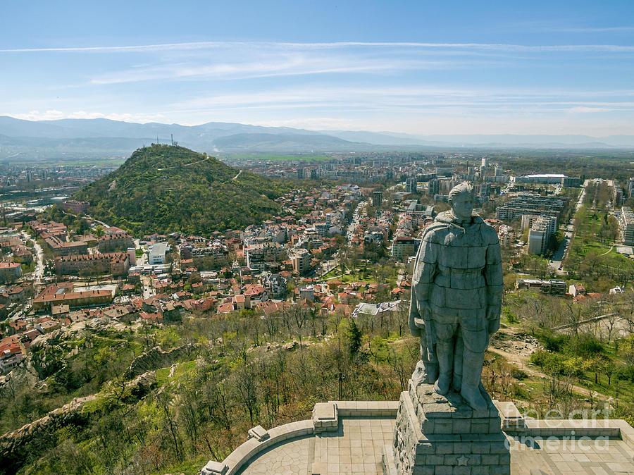 Alyosha Monument In Plovdiv Digital Art