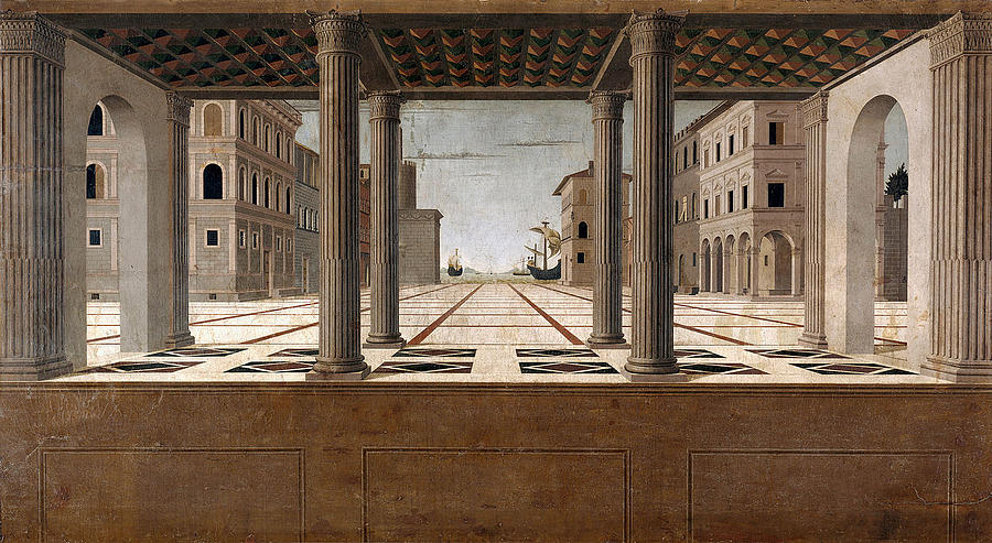 Architectural Veduta Painting