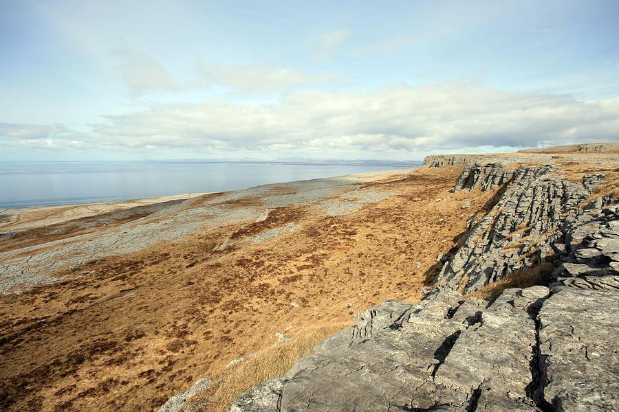 Burren Photograph - Burren View by John Quinn