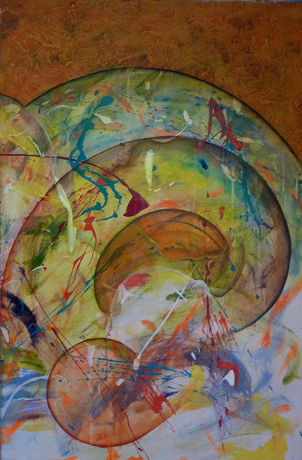 Conscious Painting - Cast Off Consciousness Series by Joey Dott