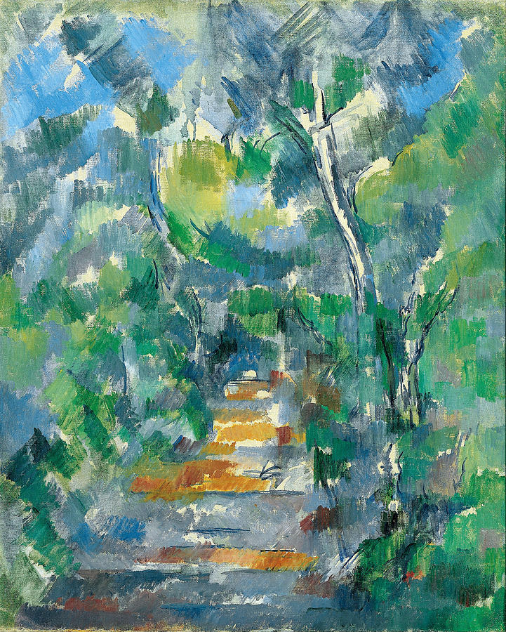 Forest Scene Painting