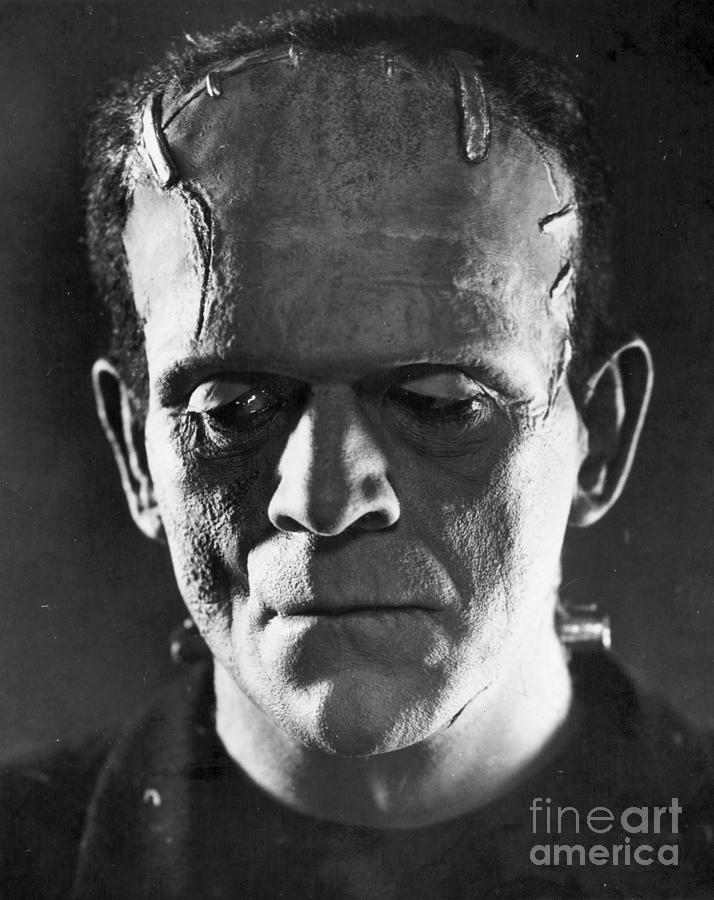 1931 Photograph - Frankenstein, 1931 by Granger