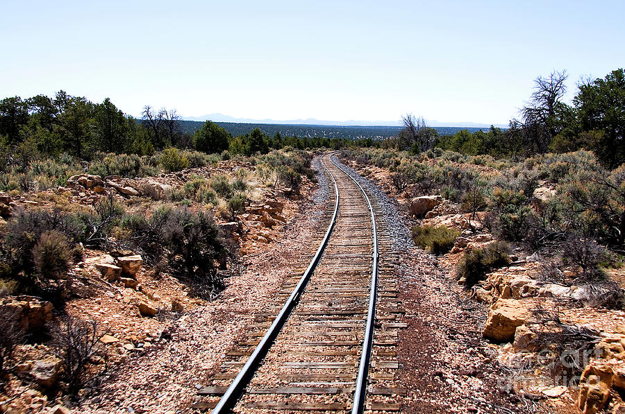 Grand Canyon Railway Photograph
