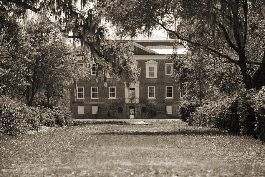 Historic Photograph - Historic Drayton Hall In Charleston South Carolina by Dustin K Ryan