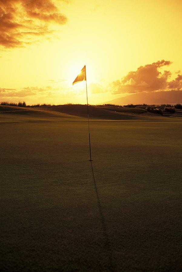 4th Photograph - Kapalua Golf Club by Carl Shaneff - Printscapes