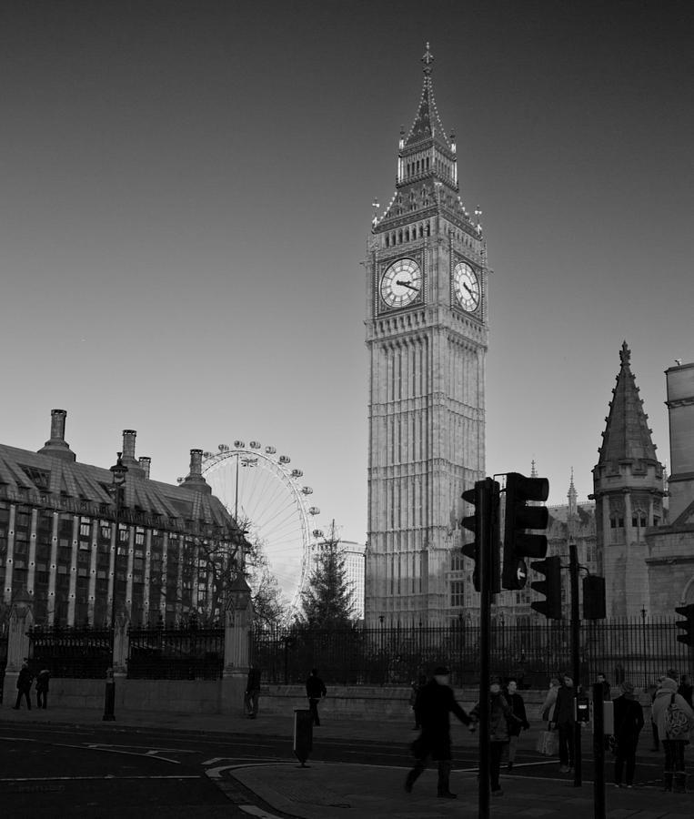 London  Skyline Big Ben Photograph