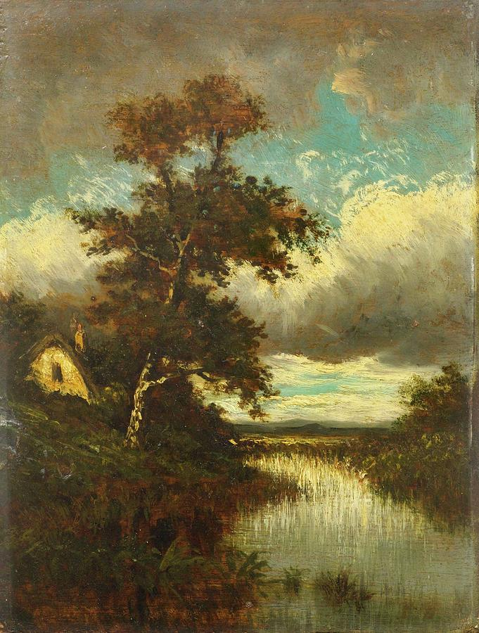 Paysage painting by motionage designs for Paysage design