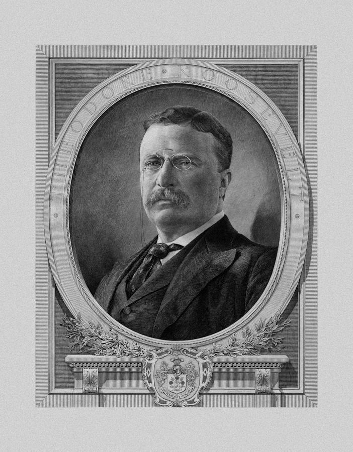President Theodore Roosevelt Drawing